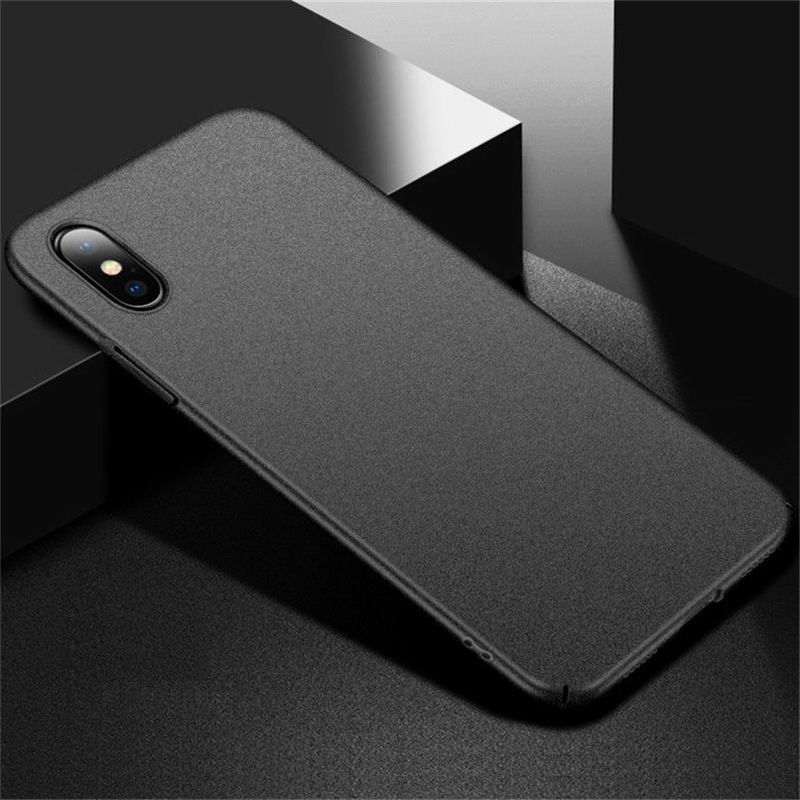 the best attitude 6c8a4 224aa Luxury Frosted Scrub Sandstone Matte Phone Case For IPhone X 10 8 Plus  Ultra Slim Hard PC Cover For IPhone 6 6S 7 Plus 5 5S SE