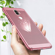 Luxury Heat Dissipation Case For Xiaomi Pocophone F1 MAX3Pro A2 Lite 8 6X 5X A 5S Plus 6 Plus 5C 5 Max2 Redmi 6 6A 6Pro S2 Cover