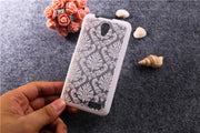 Luxury Hollow Out Flower Styles Case Cover For Lenovo A319 A 319 Phone Case Cartoon Original Back Cover Case For Lenovo X2 T007