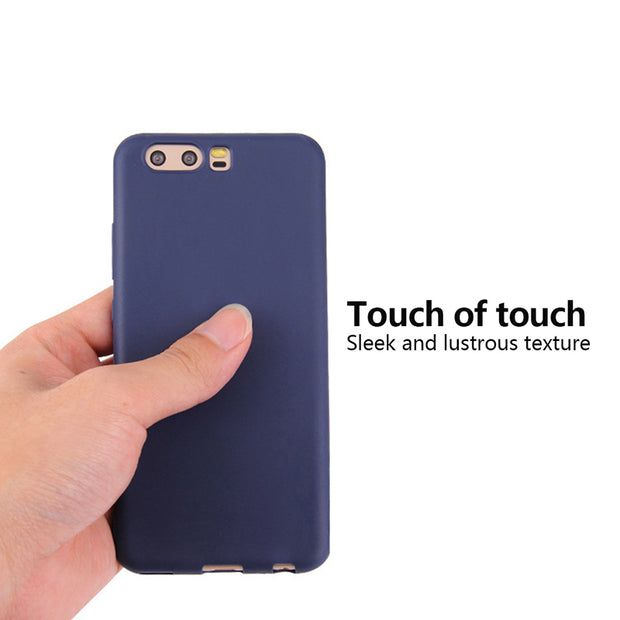 Luxury Matte Candy Phone Case For Huawei P20 P10 Mate 10 Lite P20 Pro TPU Soft Phone Cases For Huawei P8 P9 Lite 2017