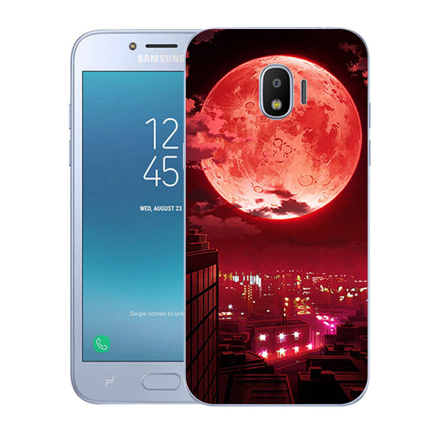 Luxury TPU Phone Cases For Galaxy J2 Pro 2018 Ultrathin Slicone Current Printed For Fundas Samsung Galaxy SM-J250F Covers