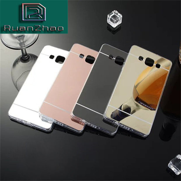 Luxury Ultra Thin Bling Mirror Case For Samsung Galaxy J3 J5 J7 2016 A3 A5 A7 2017 Case For Galaxy S6 S7 Edge S8 S9 TPU Cases S9