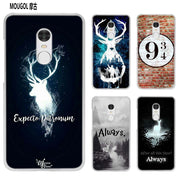 MOUGOL All This Time Always Harry Potter Transparent Case Cover Shell For Xiaomi Redmi Note MI A1 4X 5 5A 4 4A 3 Plus 5X