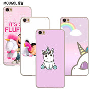 MOUGOL My Unicorn Agnes Fashion Transparent Case Cover Shell For Xiaomi Redmi Note MI A1 4X 5 5A 4 4A 3 Plus 5X