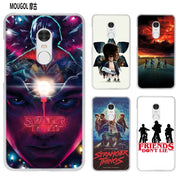MOUGOL Stranger Things Poster Transparent Case Cover Shell For Xiaomi Redmi Note MI A1 4X 5 5A 4 4A 3 Plus 5X