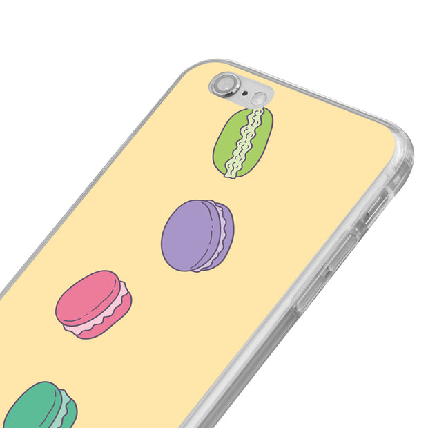 Macaroon Print Case Cover For IPhone 7 8 For Samsung S8 For Huawei P9 Mate For Xiaomi