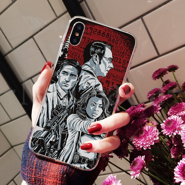 MaiYaCa American Tv Series Person Of Interest Unique New The Fashion Phone Case For IPhone 8 7 6 6S Plus X XS Max 10 5 5S SE XR