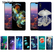 MaiYaCa Animal Jellyfish Black Soft Silicon Cover Cases For Xiaomi Mi8 Mi6 Max2 Max3 4X Redmi 5 Redmi Note 5
