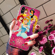 MaiYaCa Ariel Aurora Belle Cinderella Jasmine Mulan On Sale! Luxury Cool Phone Case For IPhone 8 7 6 6S Plus X XS Max 5 5S SE XR