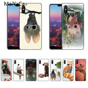 MaiYaCa Cartoon Bat Red-panda Original Case For Xiaomi Redmi 5 Redmi Note 5 4X Mi8 Mi6 Max2 Max3 Mi6 Mi8