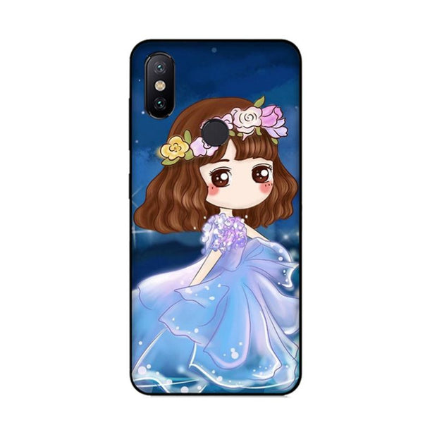 MaiYaCa Cartoon Lovely Girl Under Sky Night Silicon Soft Cases For Xiaomi Redmi 5 Redmi Note 5 4X Mi8 Mi6 Max2 Max3 Mi6 Mi8