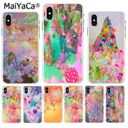 MaiYaCa Colorful Beach Candy Magic Land New Fun Phone Case Cover For IPhone 8 7 6 6S Plus X XS Max 10 5 5S SE XR Coque Shell
