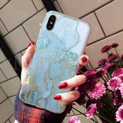 MaiYaCa Colorful Marble Stone Hot Fashion Fun Dynamic Phone Case For IPhone 8 7 6 6S Plus X XS Max 10 5 5S SE XR Coque Shell