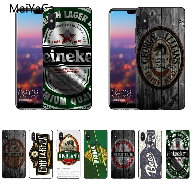 MaiYaCa For Xiaomi Redmi Note 5 Case Beer Soft TPU Rubber For Xiaomi Mi Note3 Note5 Redmi Note 5plus 4X Mi8 8se Case