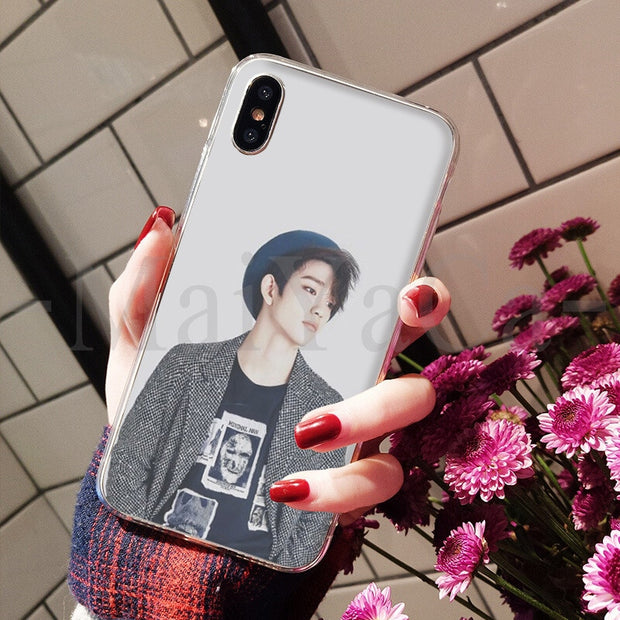 MaiYaCa GOT7 JinYoung Jackson Mark Lovely Phone Accessories Case For IPhone 8 7 6 6S Plus X XS Max 10 5 5S SE XR Coque Shell