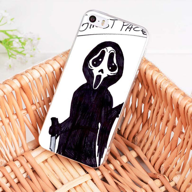 MaiYaCa Ghostface Scream Unique Design High Quality Phone Case For IPhone 8 7 6 6S Plus X 10 5 5S SE 5C 4 4S Coque Shell
