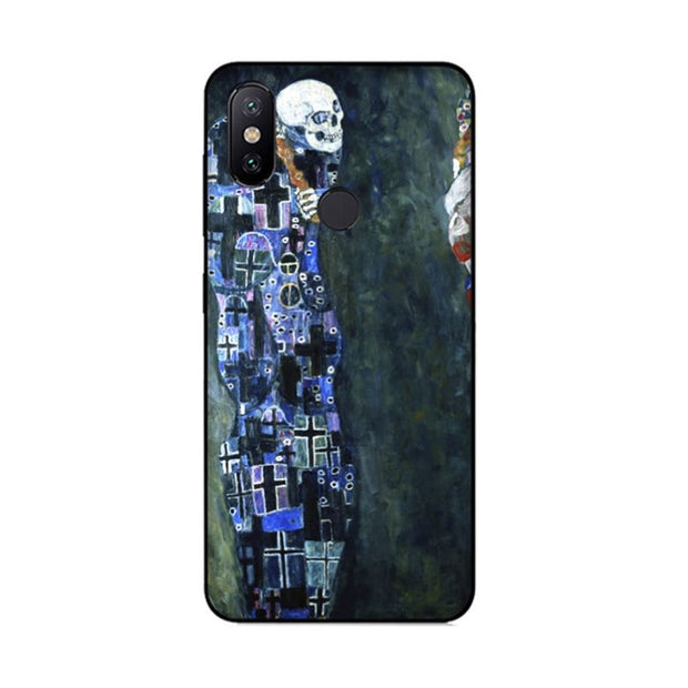 MaiYaCa Gustav Klimt Black Cover Cases For Xiaomi Redmi 5 Redmi Note 5 4X Mi8 Mi6 Max2 Max3 Mi6 Mi8