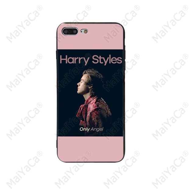 maiyaca harry styles aesthetic quotes colorful cover phone case