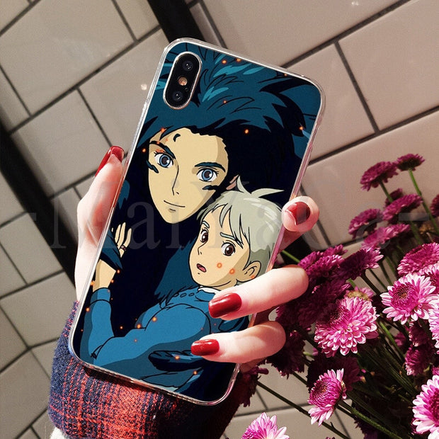 MaiYaCa Howl's Howls Moving Castle Hot Printed Cool Phone Accessories Case For IPhone 8 7 6 6S Plus X XS Max 10 5 5S SE XR