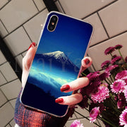 MaiYaCa Japan Mount Fuji Protective Mobile Phone Case For IPhone 8 7 6 6S Plus X XS Max 10 5 5S SE XR Coque Shell