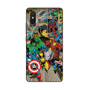 MaiYaCa Marvel Superheroes The Avengers For Xiaomi Redmi Note 5 Soft TPU Rubber For Xiaomi Mi Note2 3 Redmi 5 5plus Mote5