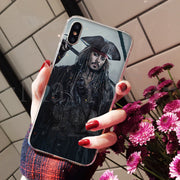 MaiYaCa Pirates Of The Caribbean Johnny Depp Simple Soft TPU Fashion Phone Cover For IPhone 8 7 6 6S Plus X XS Max 5 5S SE XR