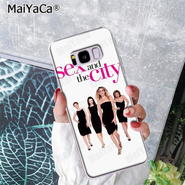 MaiYaCa Sex And The City Phone Case Fashion Back Cover For