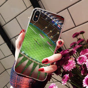 MaiYaCa Sport Water Footbal Field Adorable Colored Drawing Back Phone Cover For Apple IPhone 8 7 6 6S Plus X XS Max 5 5S SE XR