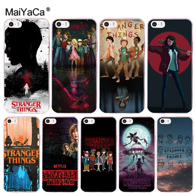 MaiYaCa Stranger Things TV Series Newest Super Cute Phone Cases For Apple IPhone 8 7 6 6S Plus X 5 5S SE 5C 4 4S Cover