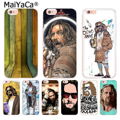 MaiYaCa The Dude The Big Lebowski Classic Soft Phone Case For Apple IPhone 8 7 6 6S Plus X 5 5S SE 5C 4 4S Mobile Cases