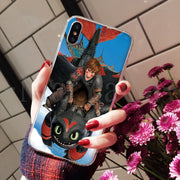 MaiYaCa Toothless Train Your Dragon New High Quality Multi Colors Phone Case For Apple IPhone 8 7 6 6S Plus X XS Max 5 5S SE XR