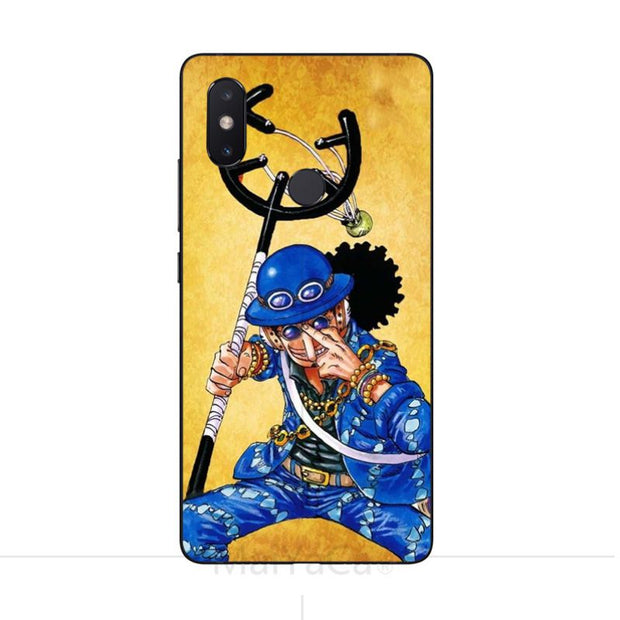 MaiYaCa Usopp For Xiaomi Mi 8 SE Black Case Cover For Xiaomi Redmi 5 5plus 4X For Xiaomi Mi8 8se Max2 Note2 Note3 Phone Case