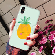 MaiYaCa Watercolor Fruit High Quality Classic High-end Phone Accessories Case For IPhone 8 7 6 6S Plus X XS Max 10 5 5S SE XR