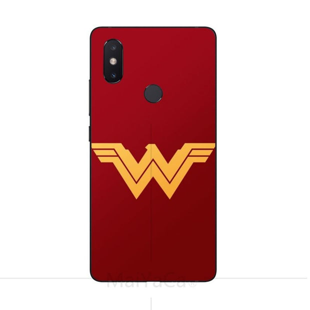 MaiYaCa Wonder Woman Tpu Silicone Case For Xiaomi Redmi 5 5plus Note5 4x For Xiaomi Note2 3 Mi8 8se Mix2 Max2 Phone Case Cover