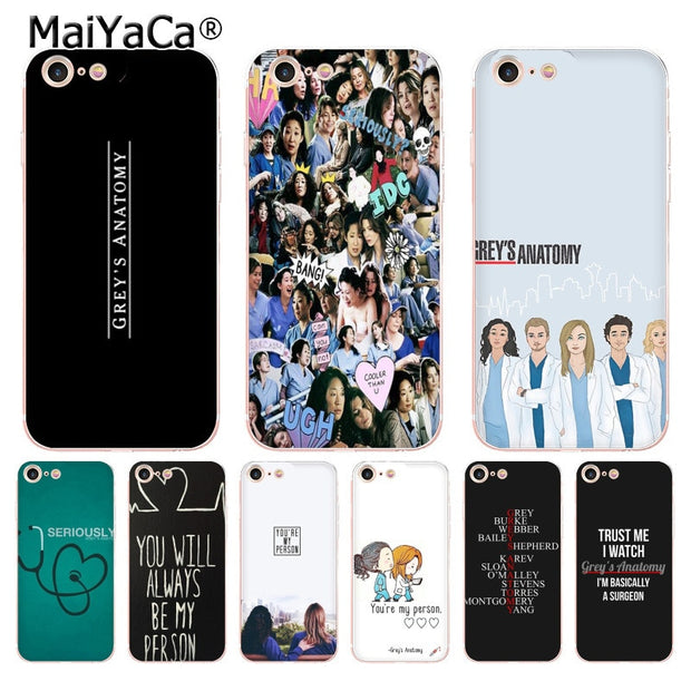 online store e7805 860ab MaiYaCa You're My Person Greys Anatomy Top Detailed Popular Phone Case For  IPhone 8 7 6 6S Plus X 10 5 5S SE 5C Case Coque