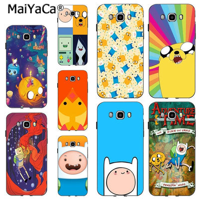 MaiYaCa Adventure Time Cute Beemo BMO Jake Finn Lumpy Design Cute Phone Case For Samsung J6 J7 Note8 Note9 S10 J4 Case