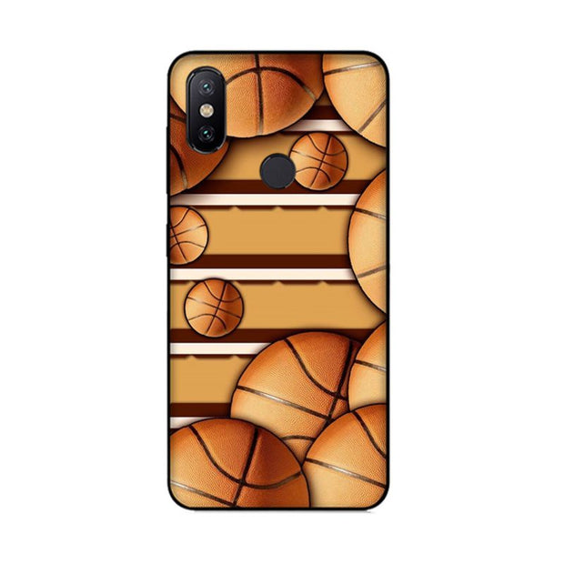MaiYaCa Basketball Court Soft Silicon Cover Cases For Xiaomi Mi8 Mi6 Max2 Max3 4X Redmi 5 Redmi Note 5