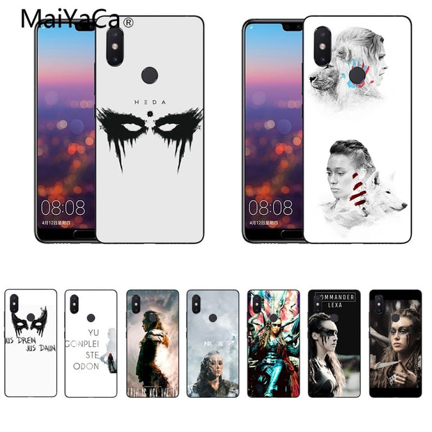 MaiYaCa For Xiaomi Redmi Note 5 Phone Case Heda Lexa The 100 TV Show Tpu Phone Case For Xiaomi Mi Note2 3 5plus Cases Cover