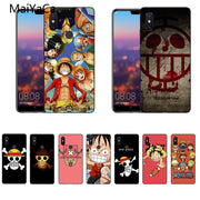 MaiYaCa One Piece Logo Silicon Soft Cases For Xiaomi Redmi 5 Redmi Note 5 4X Mi8 Mi6 Max2 Max3 Mi6 Mi8