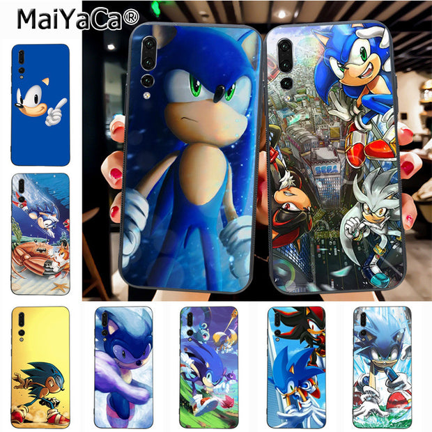 Maiyaca Silver Sonic The Hedgehog Shadow Originalblack Tpu Phone Case Cover For Huawei P20 P20 Pro Mate10 P10 Plus Honor9 Case