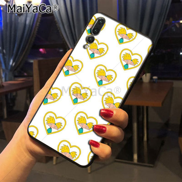 Maiyaca Cartoon Rugrats Amine Newest Super Cute Phone Cases For Huawei P20 P20 Pro Honor9 Mate10 Case Cover