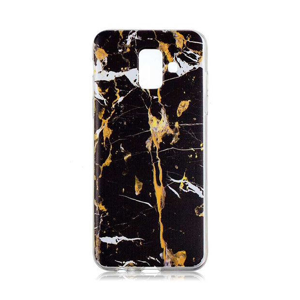 Marble Soft Shell Case For Galaxy A6 A8 Plus 2018 For Samsung Galaxy A5 A7 2017 Phone Cases Covers A310 A510 A320 Coque Housing
