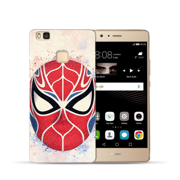 Marvel Avengers Case For Huawei Nova 2 Plus Mate 9 10 Lite Pro Y5 2017 Y6 II Pro Y7 Ant IronMan Spiderman Phone Case Cover Etui