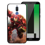 Marvel Comics Superhero Phone Case For Huawei Mate 10 20 Lite Mate 10 20 Pro P20 Lite Black Soft Silicone Coque Case