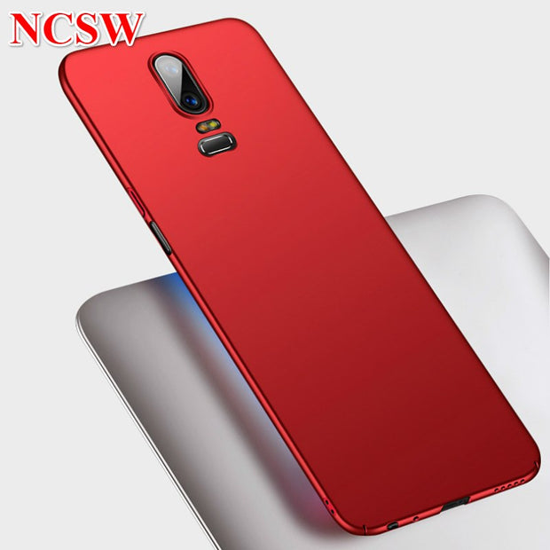 Matte Hard PC Phone Cover For OnePlus 6T Case Frosted Ultra Slim Protective Back Cover For Oneplus 5T 6 5 3 3T Phone Shell Case