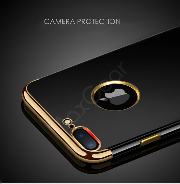 MaxGear Color Jet Black Plating Case For IPhone 7 Ultra Thin