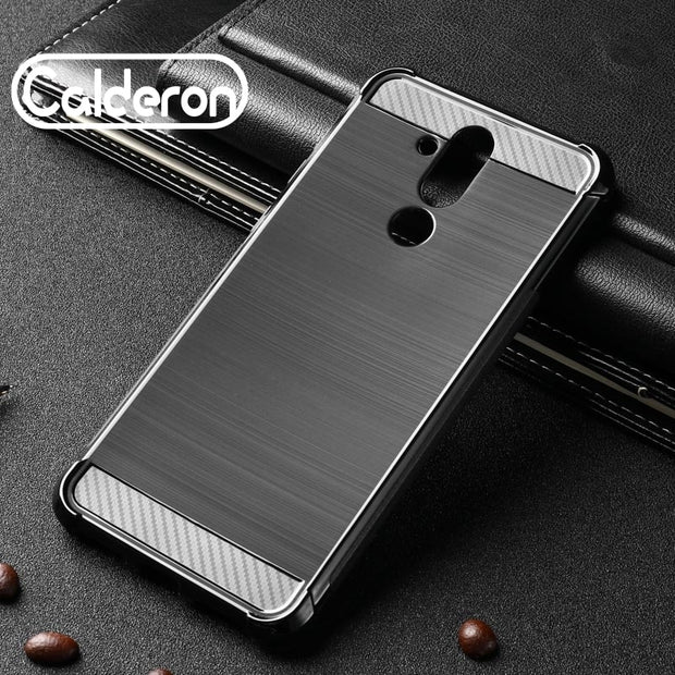 McCollum For Huawei Mate 20 Lite Case Silicone Rugged Armor Soft Back Cover Case For Huawei Mate20 Lite Phone Cases Fundas Coque