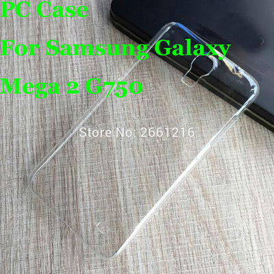 Mega 2 G750 Hard PC Case Ultra Thin Clear Hard Plastic Cover Protective Skin For Samsung Galaxy Mega 2 G750 G7508Q 6.0 Inch