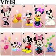 Mickey Minnie For Apple IPhone X XS MAX XR IPhone 7 Case 8 6 6S Plus Cover 5 5S Phone Case Cover Etui Back Coque Capinha Fundas