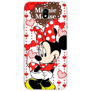 Minnie Mickey For Samsung Galaxy J7 2017 Case Silicone J730F (EU Version) Soft TPU Back For Samsung J7 Pro 2017 Cover Coque
